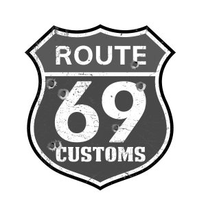Route 69 Customs Logo Custom Shop For Harley-Davidson